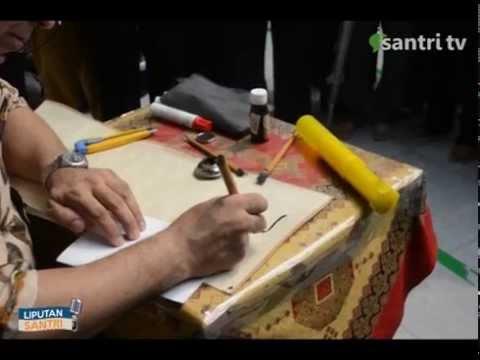Info Santri, Workshop Kaligrafi Nasional Darunnnajah