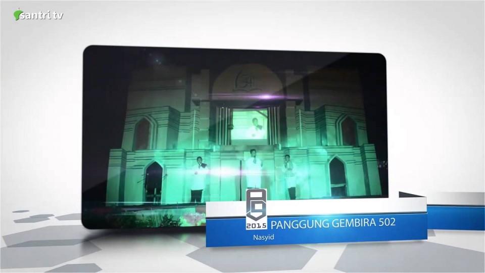 Seni : Trial Panggung Gembira 502 Pesantren Alhasanah Darunnajah 9